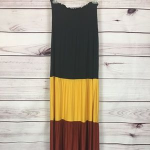 Say What? Tiered Maxi Dress